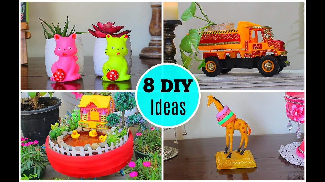 Image result for 8 Great ideas to use old toys for home decor