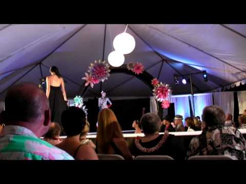 """Project Runway"" at HCC show Transitopia, Honolulu..."