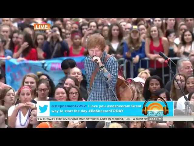 Ed Sheeran- Don't [Today Show 7/4/14]