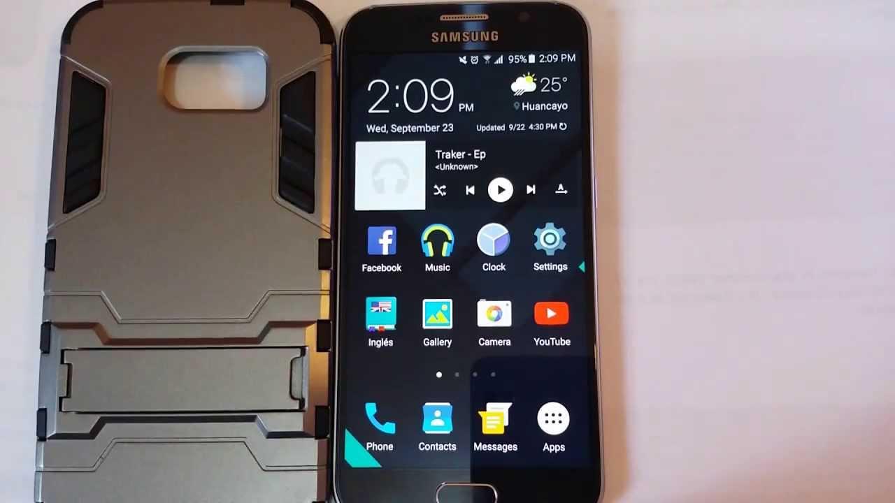 Galaxy S6 Update - UHQ upscaler