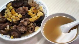 中式湯水食譜:冬菇栗子排骨湯 栗子 動画 28