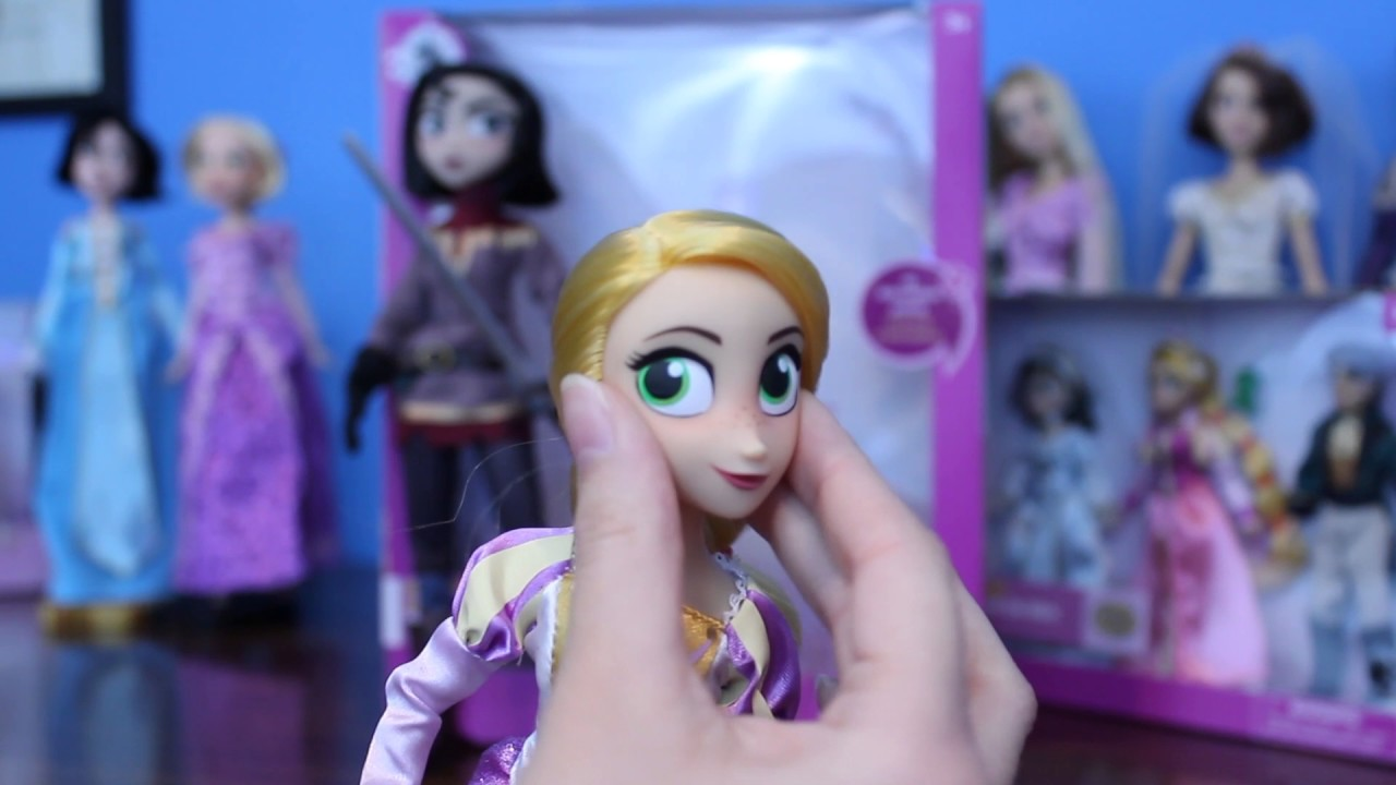 Doll Review Tangled The Series Rapunzel And Cassandra Doll Set Youtube