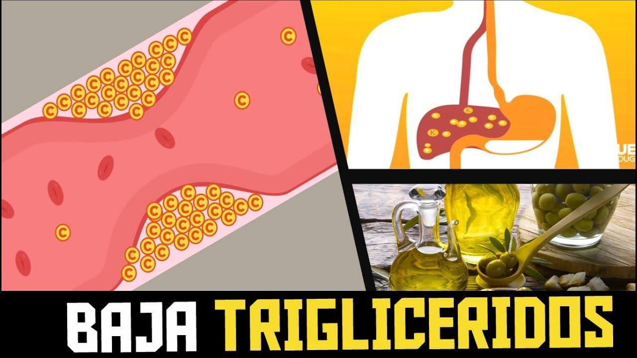 Bajar los trigliceridos de forma natural