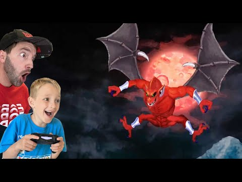 FATHER SON HAUNTED VIDEO GAME! / Ghost N Goblins Resurrection! |