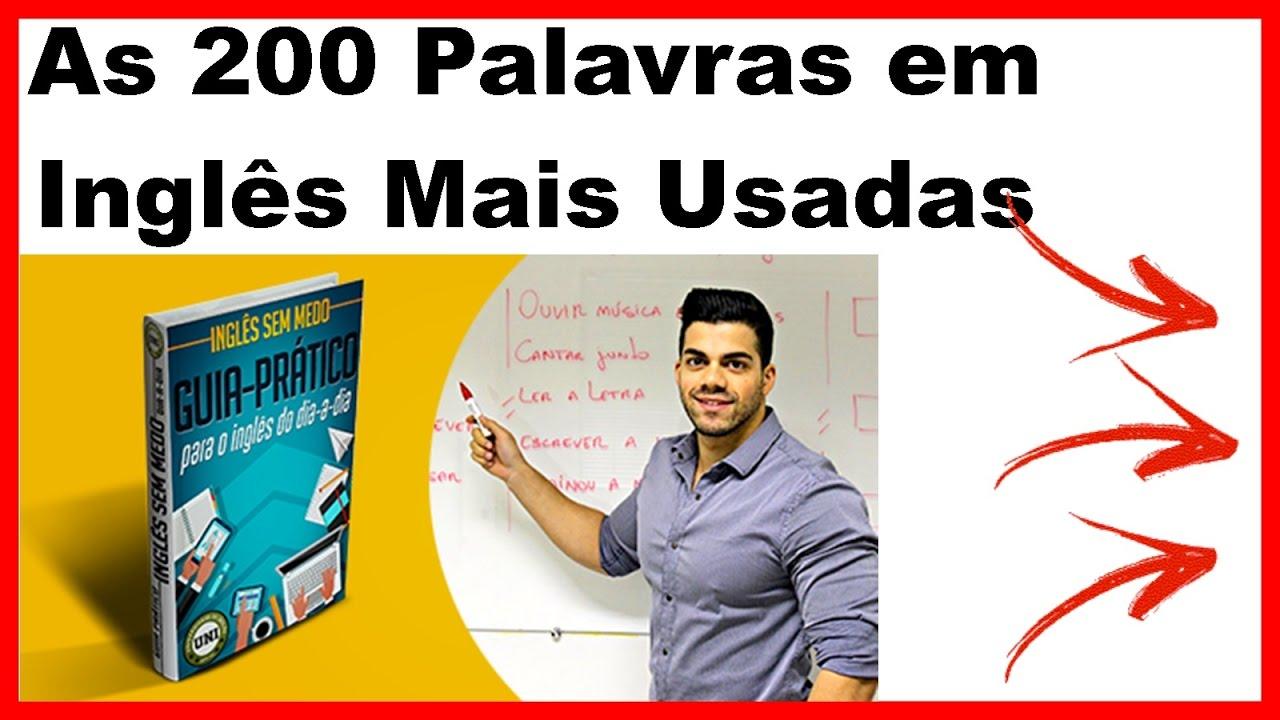 Lindo Em Ingles Tradução: 200 Palavras Em Ingles Com Tradução Em Portugues