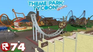 Roblox - Episode 74 | Theme Park Tycoon 2 - Disk'o antique / FR