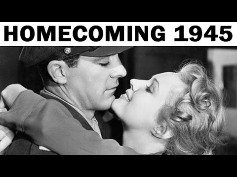 Veterans Return Home from WW2   US Army Documentary   1945