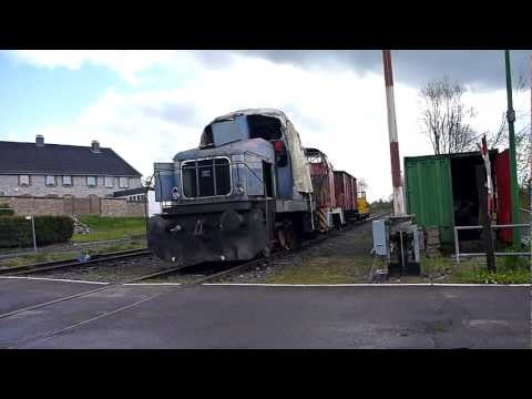 Starten von Henschel Diesellok DH 240B 29708 am 24.04.2012