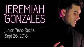 Jeremiah Gonzales Junior Piano Recital