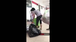 Hỗn chiến giữa cô lao công với sinh viên Hutech gây tranh cãi