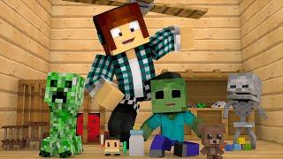 Minecraft: MONSTROS BEBÊS !! (Creeper Bebê) - Minecraft Mod