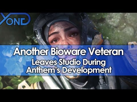 Another Bioware Veteran Leaves Studio During Anthem's Development