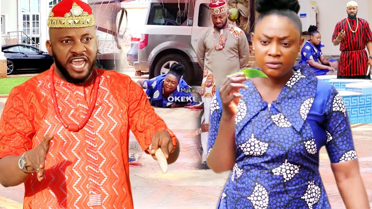 """Download How The Beautiful Palace Seer Won The Heart Of The Arrogant Prince """"New Movie'' 1&2-Yul Edochie 2021"""