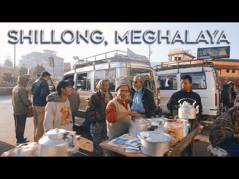 25 Minutes Walking Through Shillong, Meghalaya, India. 4K UHD
