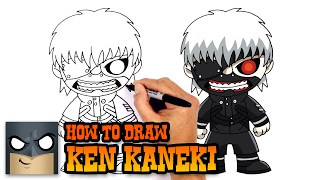 How to Draw Ken Kaneki | Tokyo Ghoul
