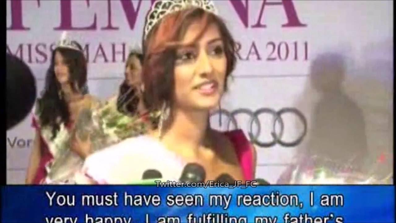 Erica Fernandes -- Pantaloon Femina Miss Maharashtra 2011