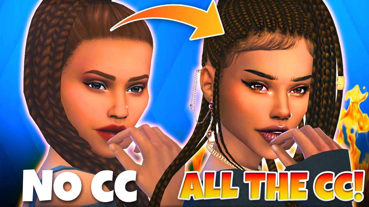 Giving your wonderful Sims even more wonderful CC makeovers ✨✨