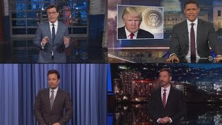 Trump Has Been Targeted By More Late-Night Jokes Than Any Other President