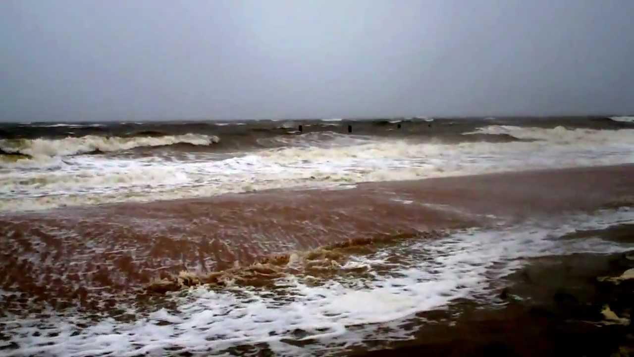 Hurricane Sandy At High Tide Sunday Morning Norfolk Va
