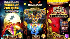 DoubleDown Casino Slots Games, Blackjack, Roulette Android Gameplay