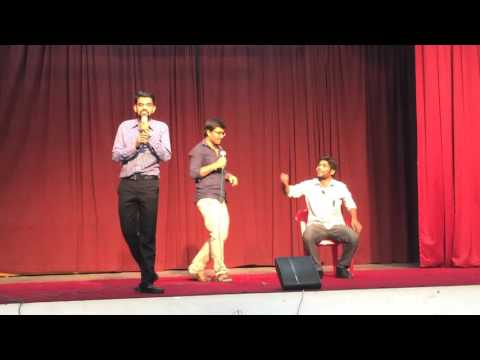 Funny skit performed at Postal Training centre (ptc), mysore by 20th SA Induction batch