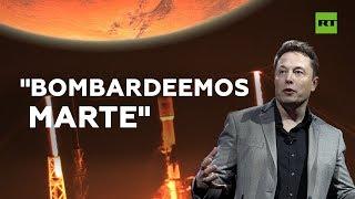 Elon Musk propone lanzar bombas nucleares para hacer Marte habitable | RT Play