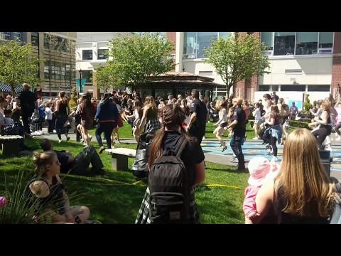 Flash Mob Uptown Mall Saanich BC May 4th 2017
