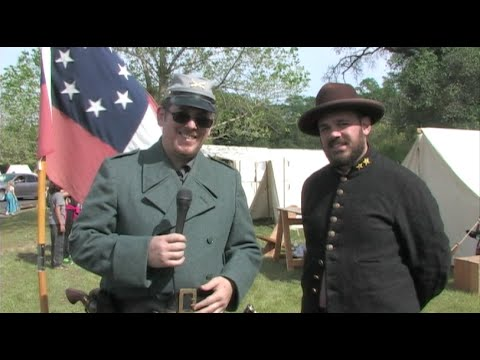 Civil War Reenactments in California - American Civil War Association Interview