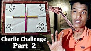 Charlie Charlie (pencil game) 3:00AM challenge || part 2 || #charlieChallenge #BloodyMary