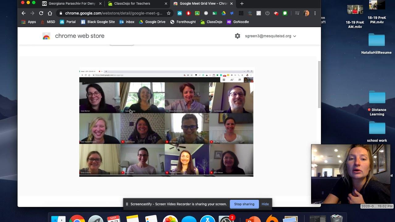 Google Meet Grid Chrome Extension For Ipad لم يسبق له مثيل الصور