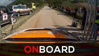 Onboard Mitsubishi EVO IX N4 - F. Fanari -  Rally Ronde Il nido dell