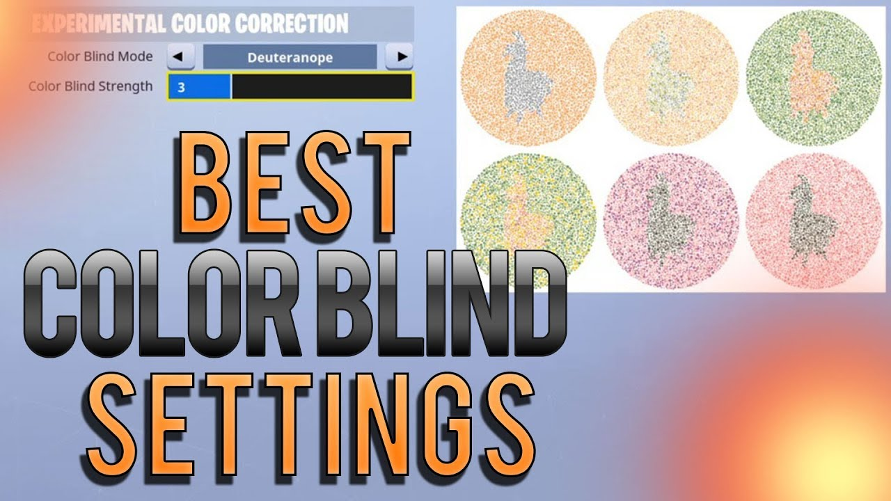 80a6ff5b3af Best Color Blind Settings Fortnite PC 2019 (EXAMPLES!) - YouTube