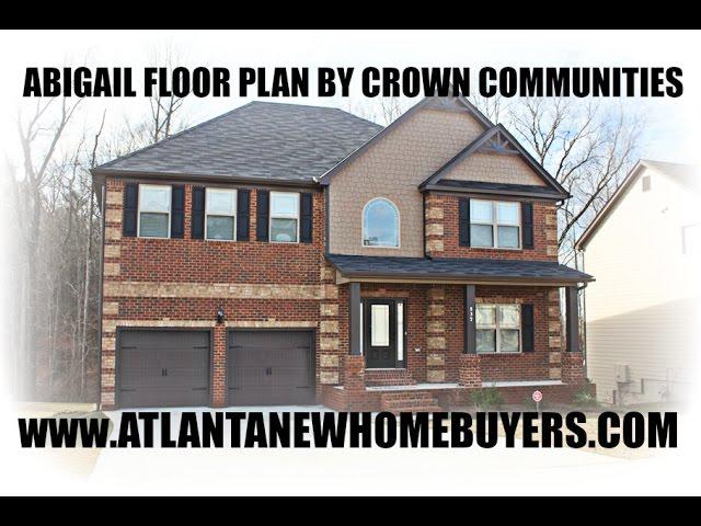 Abigail Floor Plan Built By Crown Communities Youtube