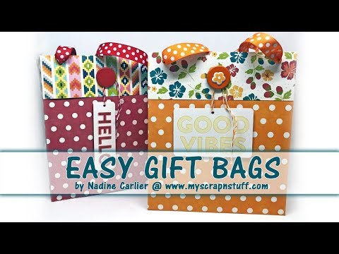 Super Easy Gift Bags
