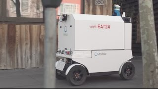 Now Yelp Eat24​ can deliver your food via robot