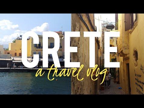 CRETE: Travel Vlog 🇬🇷 | P&O Oceana