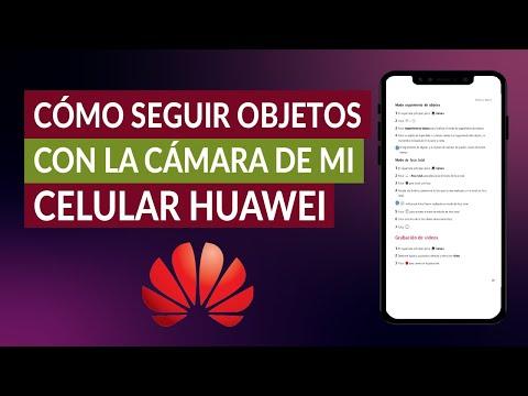 Cómo Seguir Objetos con la Cámara de mi Celular Huawei | Activar Seguimiento de Objetos en Cámara