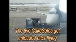 Flying Wedding Cakes by CakeSafe