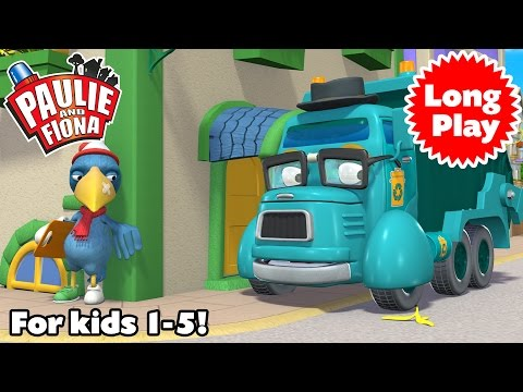 """Paulie and Fiona - Non-Stop! Long Play """"Bundle 06"""" - Preschool animation - 4 episodes in a row"""