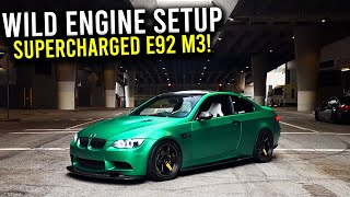 LA's LOUDEST supercharged E92 M3!