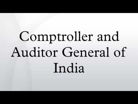 Comptroller and Auditor General of India