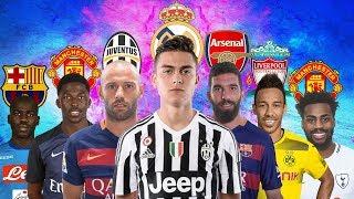 LATEST TRANSFER NEWS | Paulo Dybala to Real Madrid, Aubameyang to Liverpool and more