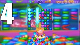 Candy Crush Friends Saga Android Gameplay #4 - Level 19 ~ 24