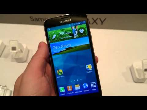 Samsung Galaxy S5 Hands On  Mobile World Congress 2014