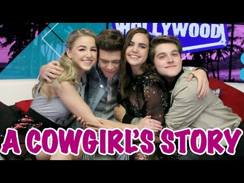 Thumbnail: Bailee Madison & Chloe Lukasiak Get Their COWGIRL On!