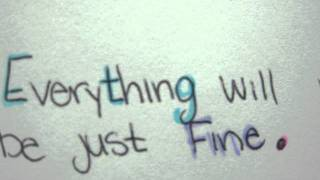 Everything Will Be-Relient K lyric video