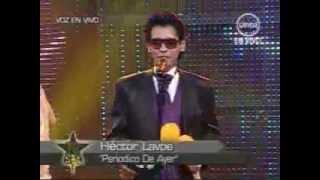 """YO SOY HECTOR LAVOE """" PERIODICO DE AYER """" [12/07/12] (9 /10). YO SOY PERU."""