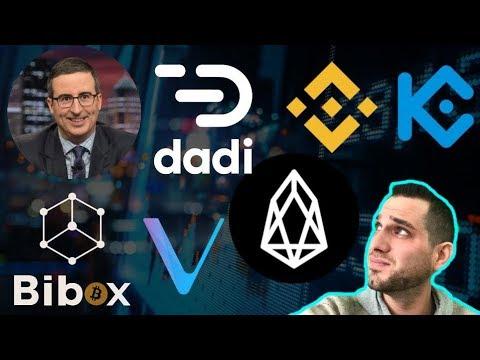 "Crypto News: Binance Supports EOS Swap   DADI ""Issues""   KuCoin   $BNB $DADI $EOS $KCS"