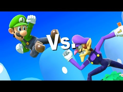 TOP 5 Luigi's Challenges | Super Smash Bros. Ultimate thumbnail