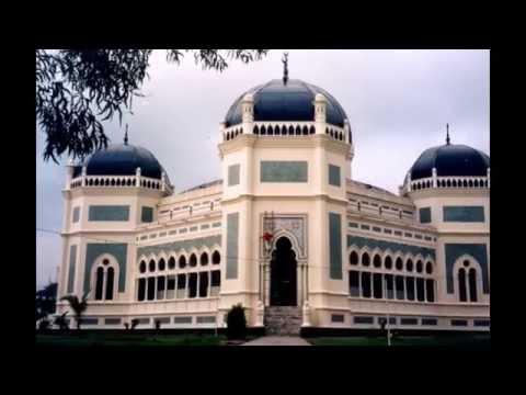 mesjid-raya-medan---sumatera-utara- -tempat-wisata-di-indonesia